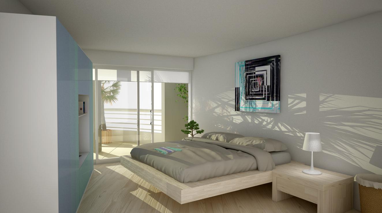 Camera da letto Appartamento nuovo Darsena